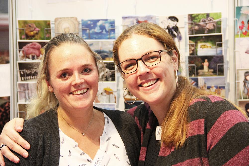 Hilda en Laura KreaDoe2019